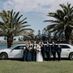 Cheap Wedding Shop Australia | My bridesmaids looked beautiful, we went with dark navy and they where flattering for each girl. The dresses where great quality. Lacey was super helpful.